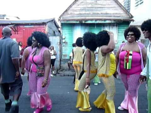 Elfi in Dominica Carnival 2011 J Ouvert in Roseau