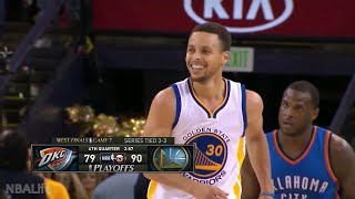 Stephen Curry 2016 NBA Playoffs Highlights | WCF & Finals