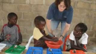 Kalulushi Children's Feeding Center in Zambia, Africa