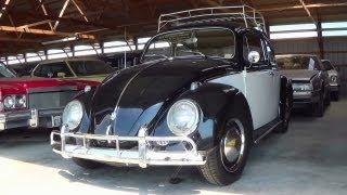 1960 VW Beetle 1600 CC - Nice Vintage Volkswagen with Roof Rack