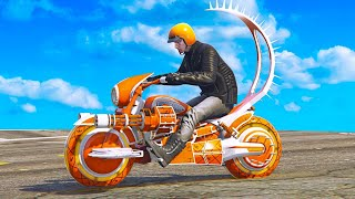 NEW $4,500,000 FUTURISTIC BIKE! (GTA 5 Arena War DLC)