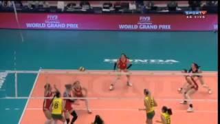 Brasil x China - World Grand Prix 2014