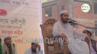 Bangla New Waz 2017 Aftab Nogar By Maulana Hafizur Rahman Siddique (Kuuakata Hujur)