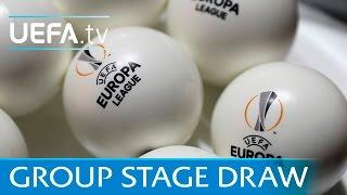 Full group stage draw: 2016/17 UEFA Europa League