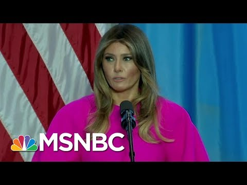 Joe And Mika React To First Lady Melania Trump's Bullying Speech | Morning Joe | MSNBC
