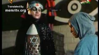 Iranian Sci-Fi TV Series Stars Mega-Evil JewishZionist Queen in Black House 1