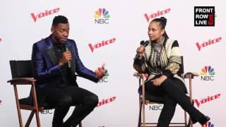 Chris Blue & Alicia Keys Press Conference The Voice Season 12 Finale