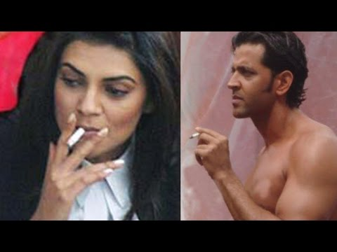 Bollywood Actors Caught Smoking In Public | Hrithik Roshan, Sushmita Sen