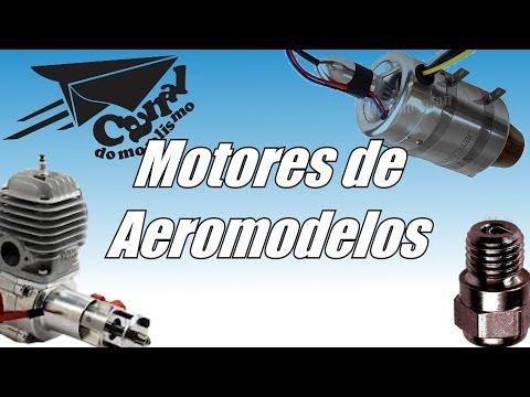 Noções básicas de motores dos aeromodelos CANAL DO MODELISMO