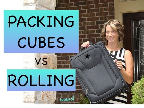 Best Method Packing Cubes vs Rolling Method in a CarryOn My Test and Review