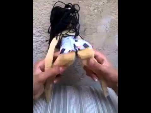 Boneca dançando funk Doll dancing funk