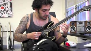 How to play 'Silent Night, Bodom Night'  by Children Of Bodom Guitar Solo Lesson