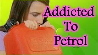 Girl Addicted To Drinking Petrol!!