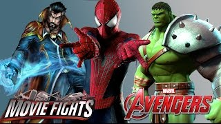 Avengers: Age of Ultron End Credits Scenes! - MOVIE FIGHTS!