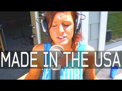 watch Made In The USA - Demi Lovato - (Official Cover Video) - Katy McAllister & VanLadyLove