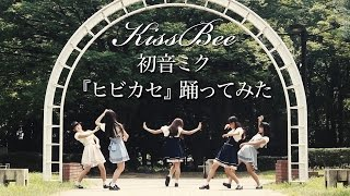 【Kiss Bee】初音ミク ヒビカセ踊ってみた【オリジナル振付】