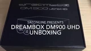 Dreambox DM900 UHD Unboxing