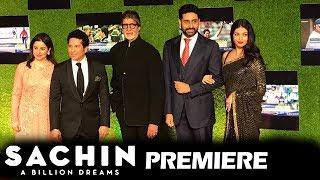 Amitabh, Abhishek, Aishwarya Rai At Sachin A Billion Dreams GRAND PREMIERE