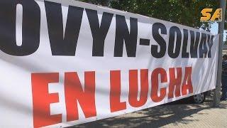 270815 protestes a Solvay Martorell