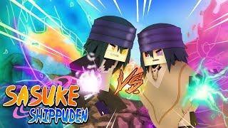 Minecraft - SASUKE SHIPPUDEN - NOVO SHARINGAN AZUL SASUKE  VS SASUKE DO PASSADO UCHIHA ! 32