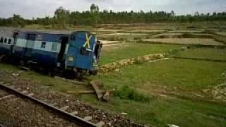 Jnaneshwari Express accident.3GP