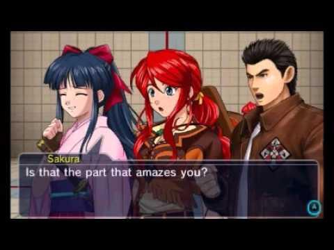 Project X Zone 2 - Ryo Hazuki Unique Pre Battle Dialog