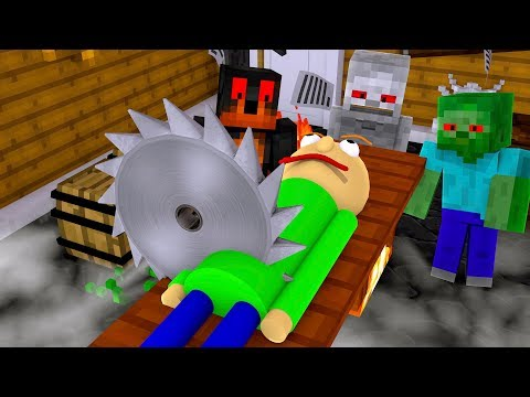 Monster School : KILL BALDI CHALLENGE!! - Minecraft Animation