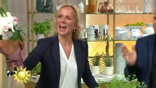 Wow! Peter överraskar Soraya med magspecial inför föräldrarledigheten - Nyhetsmorgon (TV4)