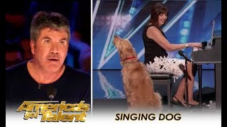 Sneak Peak: Simon Cowell Finally Finds A SINGING DOG!   America