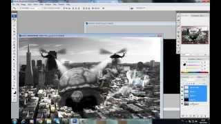 Photoshop : มหาภัยเต่ายักษ์ บุกโลก (by kuasakul)