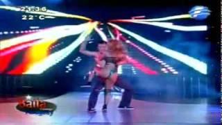Paty Orue. Duelo de Reggaeton en Baila Conmigo Paraguay
