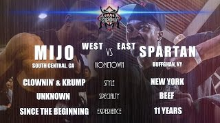KBL Presents | SPARTAN vs MIJO | East vs West