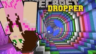 Minecraft: RAINBOW SWIRL! - TALLCRAFT DROPPER - Custom Map [8]