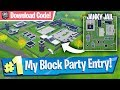 NEW Janky Jail Location - Fortnite Block Party Entry!
