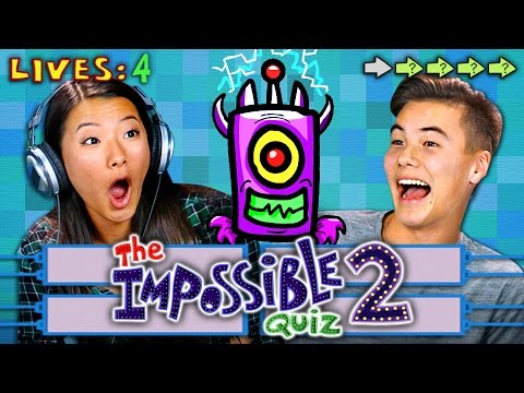 THE IMPOSSIBLE QUIZ 2 REACT Gaming