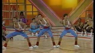 The 1987 Crystal Light National Aerobic Championship, team competition The San Francisco Bay Club
