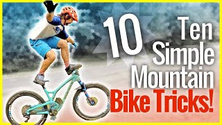10 Dumb Mountain Bike tricks you can use to break your bike and get hurt easily!!