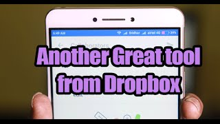 Latest application from Dropbox to jointly edit documents