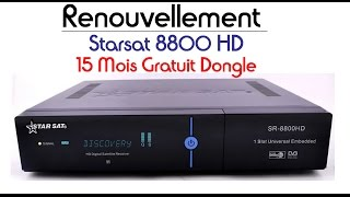 [TUTO] Renouvellement Starsat 8800 HD %100-8800 HDتجديد مدة صلاحة رسيفر ستارسات