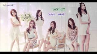 Dal Shabet - Maybe 어쩜 (Eng/Romanization) Subs