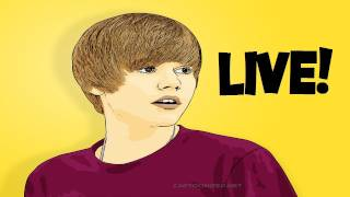 Booster Sings Justin Bieber LIVE