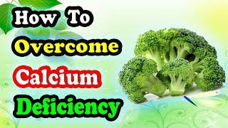 Calcium Deficiency Treatment With 7 Natural Food