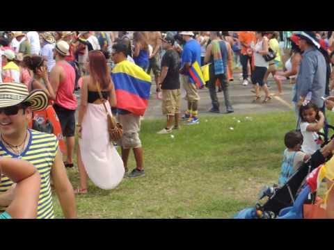 Festival independencia de Colombia en Miami Florida 2013