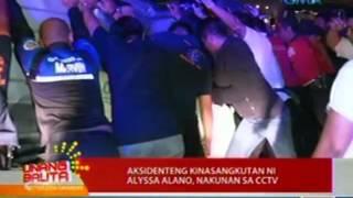 UB: Aksidenteng kinasangkutan ni Alyssa Alano, nakunan ng CCTV
