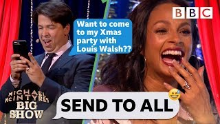 Send To All with Alesha Dixon - Michael MacIntyre's Big Show: Episode 6 - BBC One