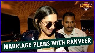 Deepika Padukone Opens Up About Her Marriage Plans With Ranveer | Bollywood News