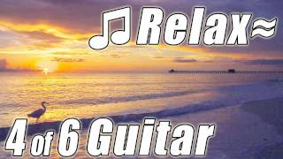ROMANTIC GUITAR #4 Best Instrumental Soft Music Love Songs Relaxing Ocean Sleeping for Studying