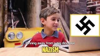 Children's reactions to swastika (and other symbols for the first time)