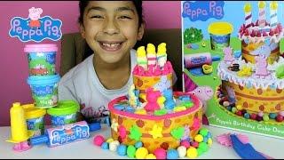 Tuesday Play Doh Peppa Pig Cake  Peppa's Birthday Dough Set   B2cutecupcakes