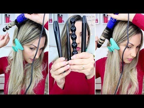 Sapphire 8 in 1 complete curler Irressitible me demonstração Por Bia Munstein